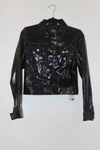 Pure Originals Patent Snake Skin Jacket (Faux) reslu-551