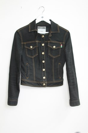Moschino Denim Jacket Black orig021