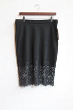 Zara Skirt with Lace Bottom NEW zara-t23