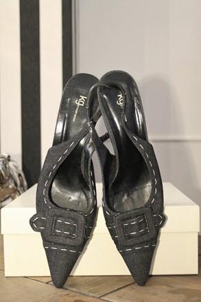 Kurt Geiger Denim Shoes reslu-480