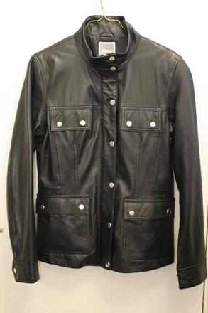 Etam Barbour Style Leather Jacket reslu-411