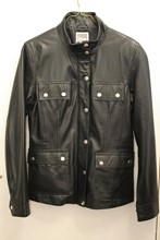 Etam Barbour Style Leather Jacket reslu-411