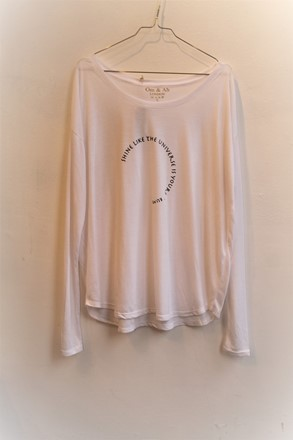 Om and Ah Long Sleeve Tee Shine omah_6002