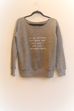 Om and AH Cosy Pullover Light Grey am0h203
