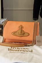 Vivienne Westwood Chelsea Flap Two Strap Clutch NEW vwe-s2