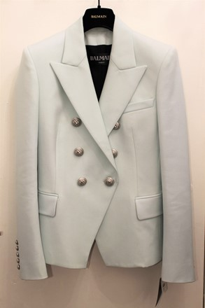 Balmain Jacket Mint Green NEW balm-e110