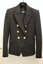 Balmain Jacket Black Gold Hardware balm-e109