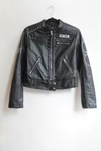 "Bershka ""Gypsy Soul"" PU Biker Jacket relu-227"
