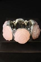 Pale Pink Rose Bracelet reslu-537