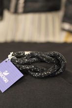 Swarovski Black Knot Bracelet reslu-591
