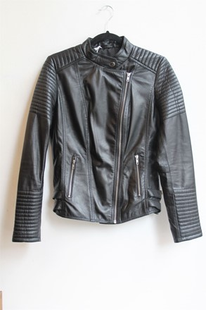 Aim Leather Biker Jacket relu-201
