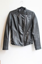Aim Leather Biker Jacket relu-201