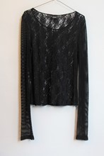 Dolce and Gabbana Black Lace Top relu-280