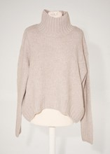 H and M Stone High Neck Sweater reslu-444