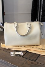 Louis Vuitton Speedy 25 Cream reslu-496