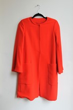 Zara Dress Coat Tomato zara-t20