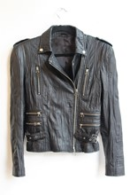 Balenciaga Inspired Leather Jacket balen-we2