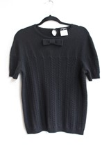 Chanel Black Cashmere Sweater relu-26