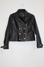 Missguided Faux Leather Jacket reslu-516