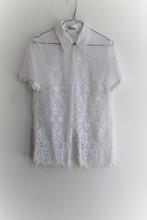 Escada White Lace Shirt reslu-410