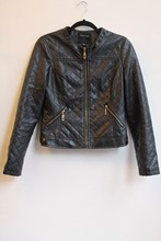 Therapy Spa Faux Leather jacket reslu-601