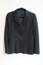 Victor Victoria Black Single Breasted Jacket reslu-619