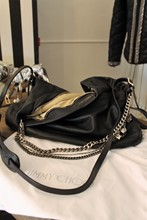 Jimmy Choo Biker Large Hobo Black Bag reslu-458