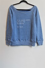 Om and Ah Cosy Pullover Kind Pale Blue am0h202
