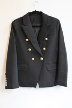 Balmain Inspired Black Blazer NEW balm-e101
