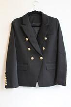 Balmain Inspired Black Blazer NEW balm-e101