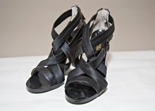 Michael Kors Black strappy shoe reslu-513