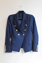 Balmain Inspired Navy Blazer NEW balm-e104