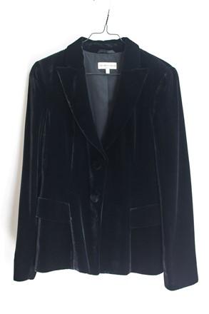 Emporio Armani Black Velvet Jacket reslu-403