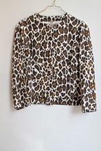 Stella McCartney Animal Print Jacket reslu-579
