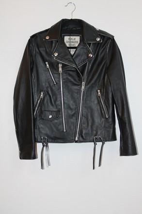 Replay Customized Icons Leather Jacket reslu-561
