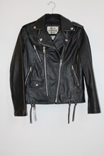 Replay Customized Icons Leather Jacket reslu-561