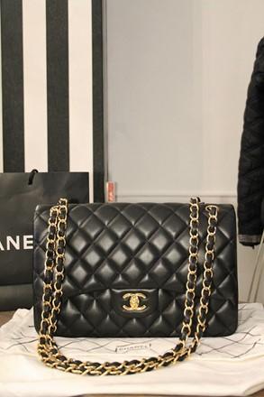 Chanel Flap Bag Jumbo relu-28