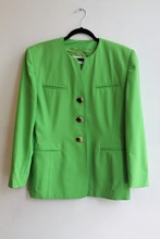 Escada Green Jacket reslu-408