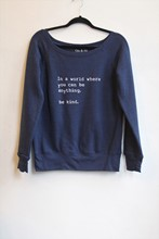 Om and Ah Cosy Pullover Kind Navy am0h21