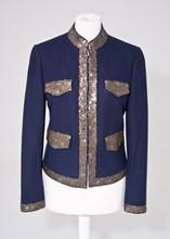 Paul and Joe Navy wool jacket reslu-540