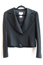 Feraud Black Fine Wool Jacket reslu-413