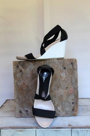 Lunar Elastic Wedge Sandal reslu-499