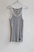 Superdry Vest Tank Top Blue White Stripe orig013