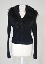 Ralph Lauren Corduory Jacket with Detachable Faux Fur Collar reslu-554