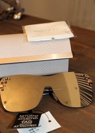 Jimmy Choo Mirrored Sunglasses reslu-460