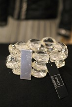 SNO of Sweden Large Crystal Cuff reslu-574