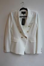 Attentif White Balmain Inspired Blazer NEW relu-222