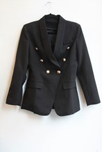 Balmain Style Long Line Blazer balm-e117