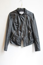 Mangotti Leather Jacket reslu-506
