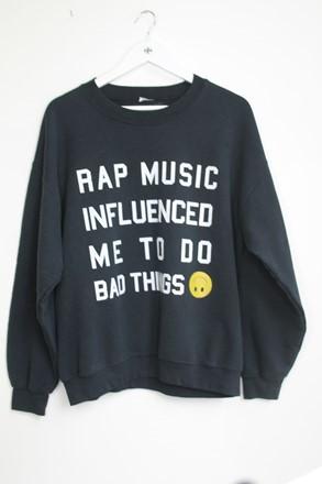 Danielle Guizo Sweatshirt Women Black orig019